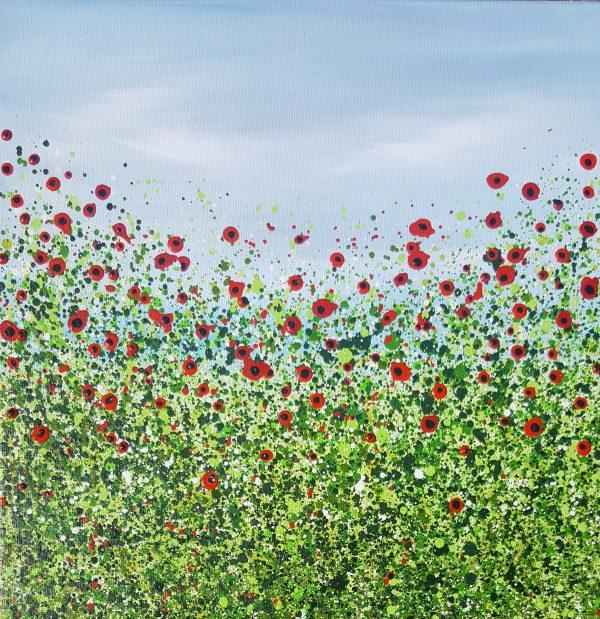 poppy painting
